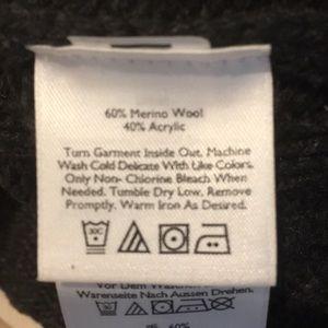Eddie Bauer Sweaters - Edie Bauer Nordic Wool Sweater Button Front